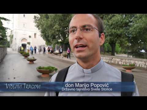 Nadbiskupijsko hodočašće: Tragom Božjega milosrđa ( Rim - Monte Casino)