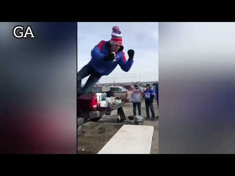 Eddie & Rocky - VIDEO: Bills Fans Doing What Bills Fans Do...