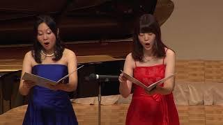 18日にエスパスホールで行われた東京混声合唱団メンバーによるコンサ...