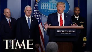 Download President Trump and Coronavirus Task Force Hold Press Briefing | TIME Mp3 and Videos