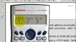 Calculadora en Grados y Radianes