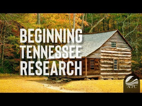 Beginning Tennessee Research