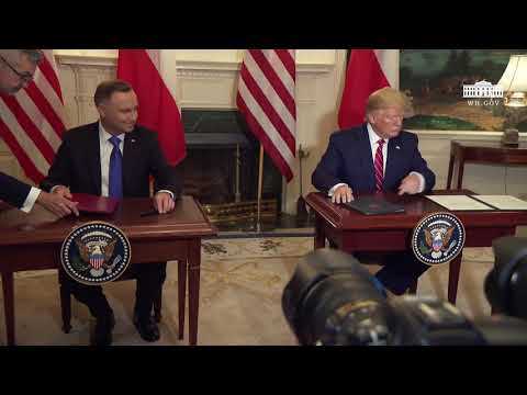Remarks: Donald Trump Attends a Joint Signing Ceremony With Andrzej Duda of Poland - June 12, 2019