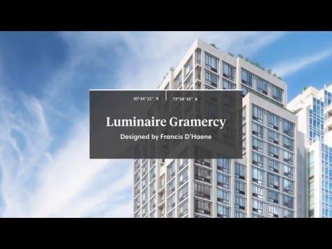 LUMINAIRE GRAMERCY