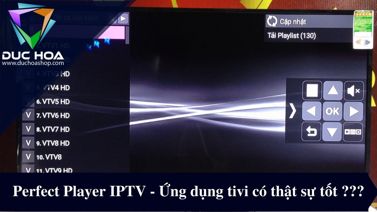 Perfect Player IPTV - ứng dụng Tivi này có nên tải không