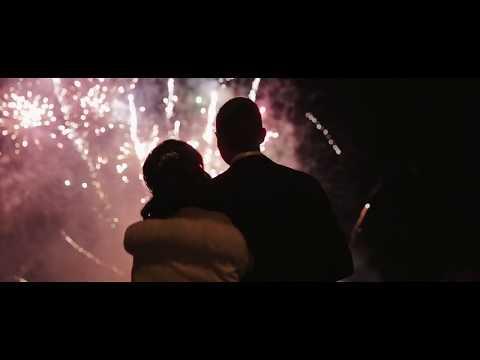 Amazing Wedding Pyromusical Fireworks Display by Pyromania Fireworks at Down Hall