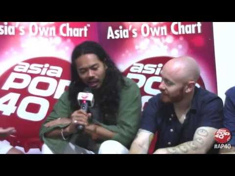 The Temper Trap chat to Dom Lau on Asia Pop 40