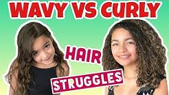 Curly Hair VS Wavy Hair
