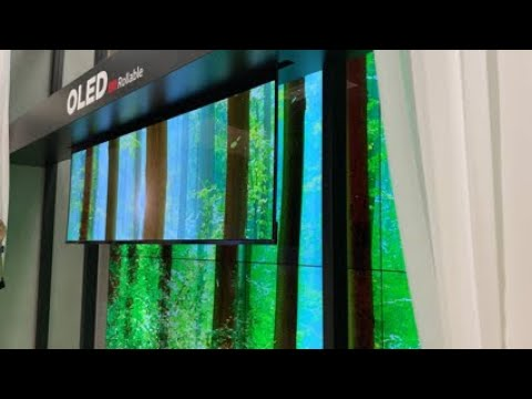 LG Roll Down OLED TV FIRST LOOK!
