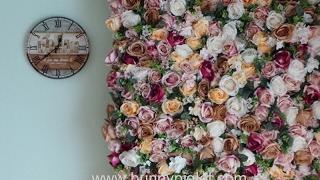 Tutorial On Diy Flower Wall