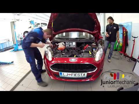 Car Mechanic Junior 2017: Practical part of the competition
