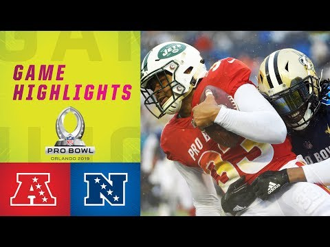 The Man Cave - AFC vs. NFC - 2019 Pro Bowl Highlights