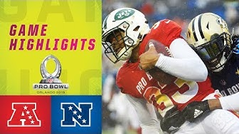 AFC vs. NFC Pro Bowl Highlights | 2019 Pro Bowl