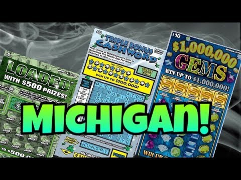 HAPPY SUNDAY! $25 IN MICHIGAN Lottery Scratch Off Tickets!