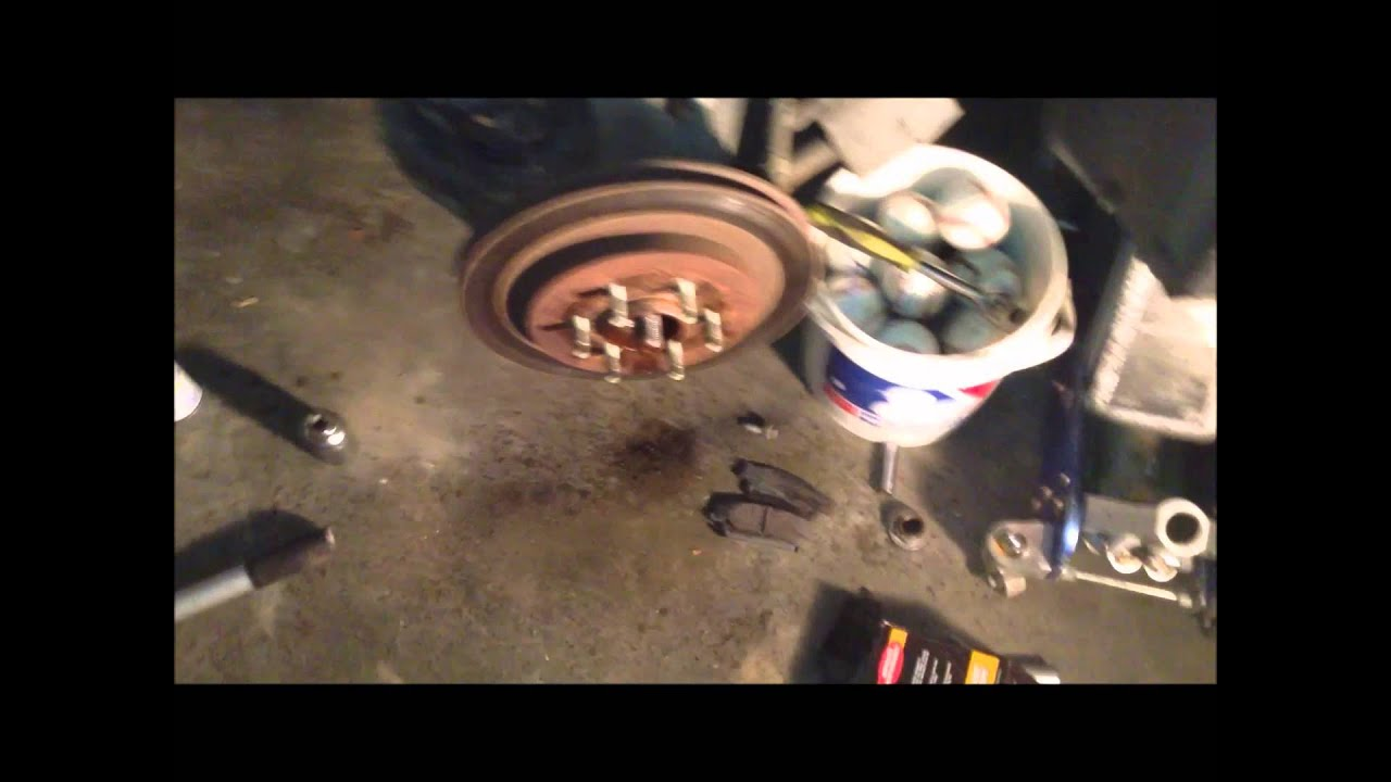 How To Change Rear Brakes And Rotors On A 2005 Srx