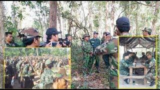 មេទ័ពកម្ពុជានិងឡាវបានជួបគ្នាហើយពីបញ្ហាដកទ័ពចេញពីតំបន់ប្រឈមមុខដាក់គ្នា| Khmer News Sharing