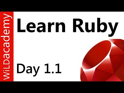 Ruby Programming Tutorials