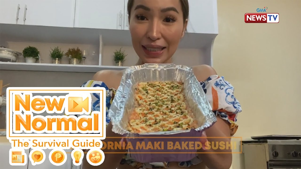 Bright Side: Kara David at Jelai Andres, susubukang gumawa ng baked sushi! | New Normal
