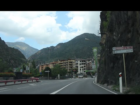 Driving In Andorra - Off To Andorra La Vella