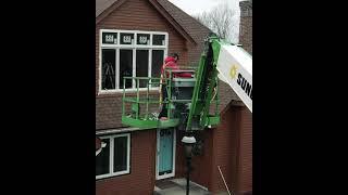Window Install Drone (Instagram)