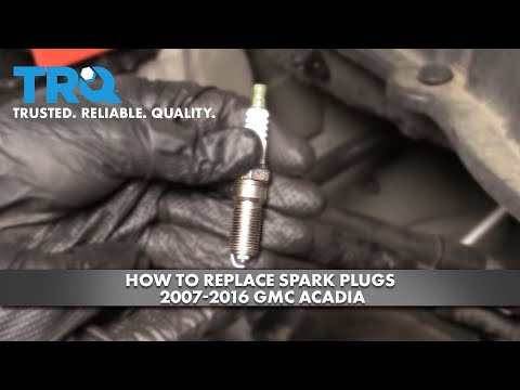 How to Replace Spark Plugs 2007-16 GMC Acadia