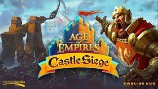 AGE of Empires: Castle siege 6/9/2017