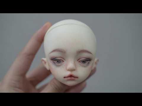 Bjd Face up (化妝過程) 2019