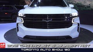 2021 Chevrolet Suburban RST - Exterior And Interior - Toronto Auto Show 2020