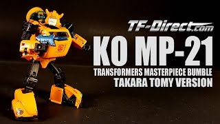 MP-21 KO Takara Tomy Bumblebee Transformers Masterpiece Bumble not Takasa Tony