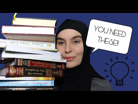 THE BEST ISLAMIC BOOKS || BOOK RECOMMENDATIONS || Samantha J Boyle