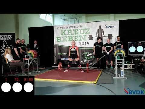 Deutsche Meisterschaft im Kreuzheben 2019 - Gruppe 3