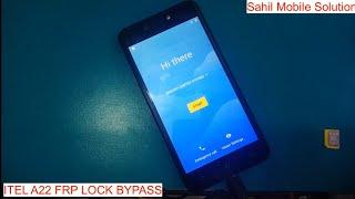 itel a22 frp lock