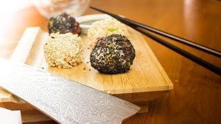 Sesame Snowballs Sushi Recipe