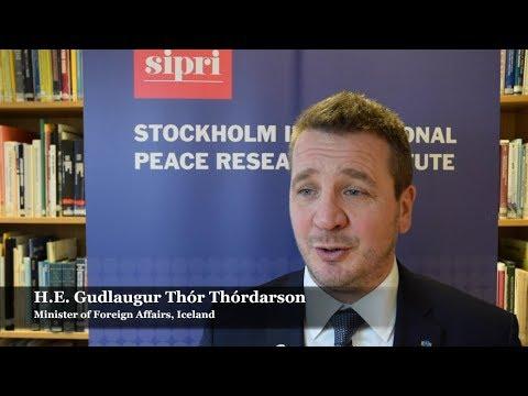 Spotlight: HE Gudlaugur Thór Thórdarson, Minister of Foreign Affairs, Iceland