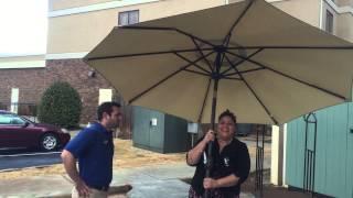 Big Umbrella Commercial funny