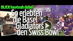 Swiss Bowl 2017 mit den Basel Gladiators: BLICK begleitet ein Football-Team hautnah