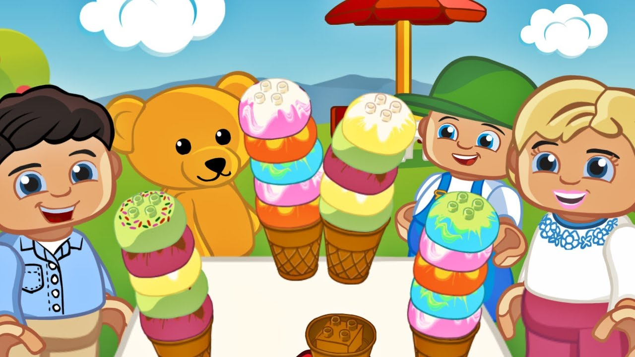 Lego Duplo Ice Cream Free Game App For Kids Android