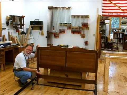 Making A Queen Bed Headboard From Two Twin Headboards Andrew Pitts Furnituremaker