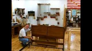 Making A Queen Bed Headboard From Two Twin Bed Headboards; Andrew Pitts Furnituremaker