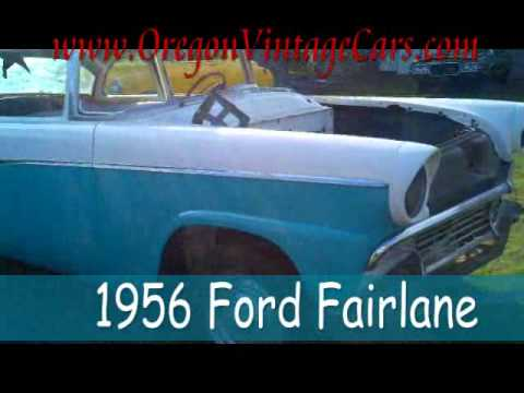 1956 Ford Fairlane For Sale Oregon Vintage Cars - YouTube