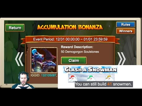 JT's Main $350 For Demogorgon Attempts + Soulstones Castle Clash