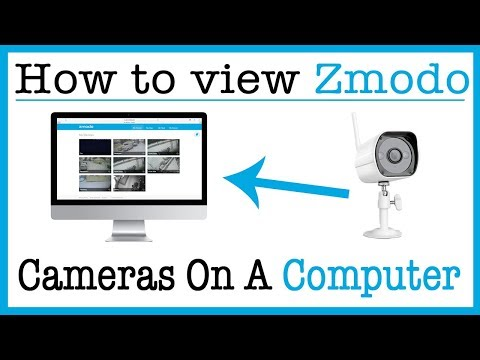 How to View Your Zmodo Cameras on a Computer - YouTube