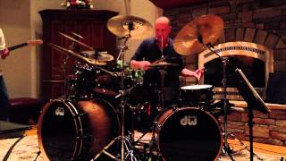 Garey Williams Drum Solo on Vibration by Ecstasy In Numbers  2/23/2013  House Concert