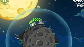 Angry Birds Space space egg stage S-1 3 stars