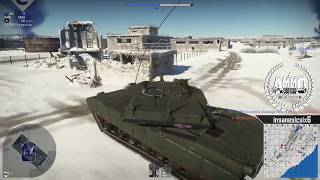 War Thunder gameplay español. #8 👏M1 ABRAMS, Apareció fercho 👏. =AMM0= escuadron.