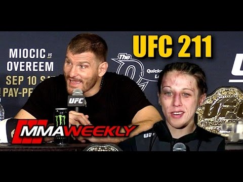 Biggest questions to consider for Stipe Miocic, Joanna Jedrzejczyk after UFC 211