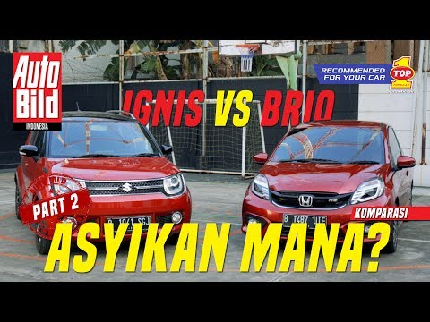 Suzuki Ignis GX vs Honda Brio RS Komparasi Auto Bild Indonesia Part 2