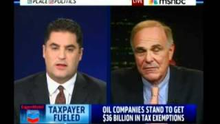 Do Oil Companies Need Your Tax $? - Cenk & Ed Rendell on MSNBC