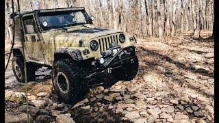 Jeep Wrangler TJ Overlanding Trip | Ozark National Forest