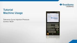Tutorial Tolerance curve injection pressure